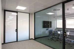Intelligent Glass in Offices