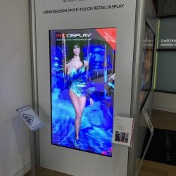 Interactive Mirror Screen