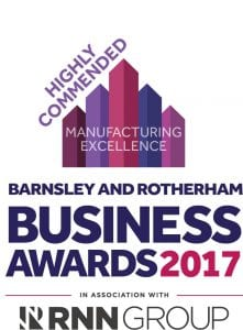 Business Awards 17 - Highly Commended - Manufacturing Excellence
