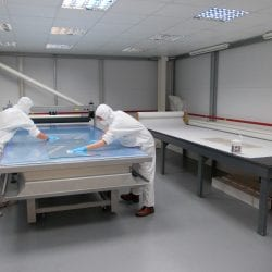 Intelligent Glass clean room