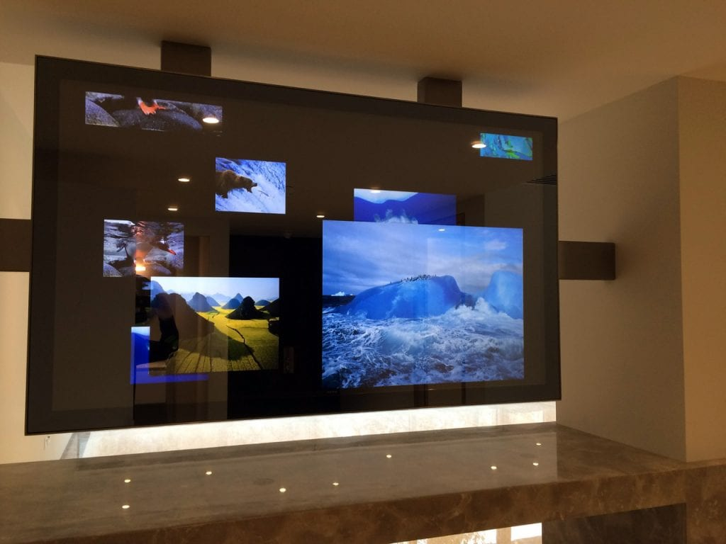 Mirrorvision mirror tv screens for commercial or for Mirror screen