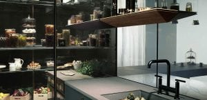 Switchable smart glass - furniture Intelligent Furniture with Switchable Smart Glass for Privacy and Displays