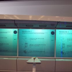 mercedes world rear projection switchable glass screen