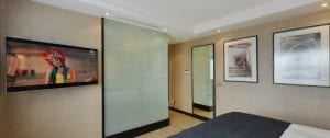 switchable glass shower