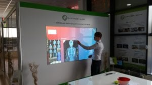 Interactive Switchable Glass