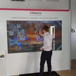 Interactive Digital Glass