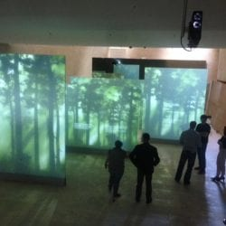 Museum 360 Dual Projection Screen