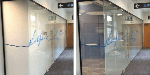 switchable glass office