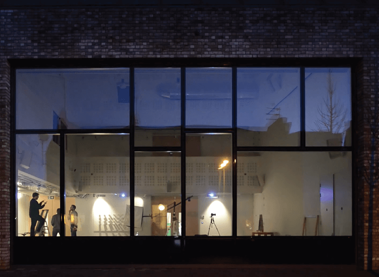 External Switchable Smart Glass Windows switched to on
