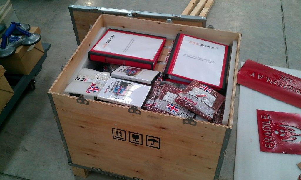 Bespoke Wooden Crate