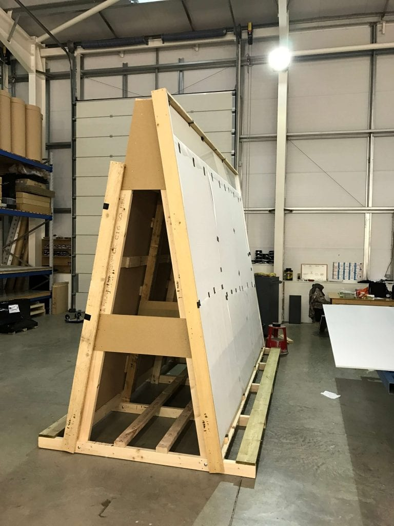 Bespoke Switchable Glass Crate