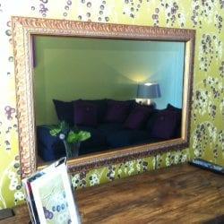 Mirror TV Screen