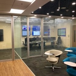 office partition smart glass