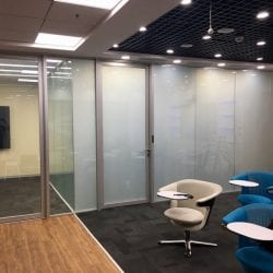 office partition smart glass frosted