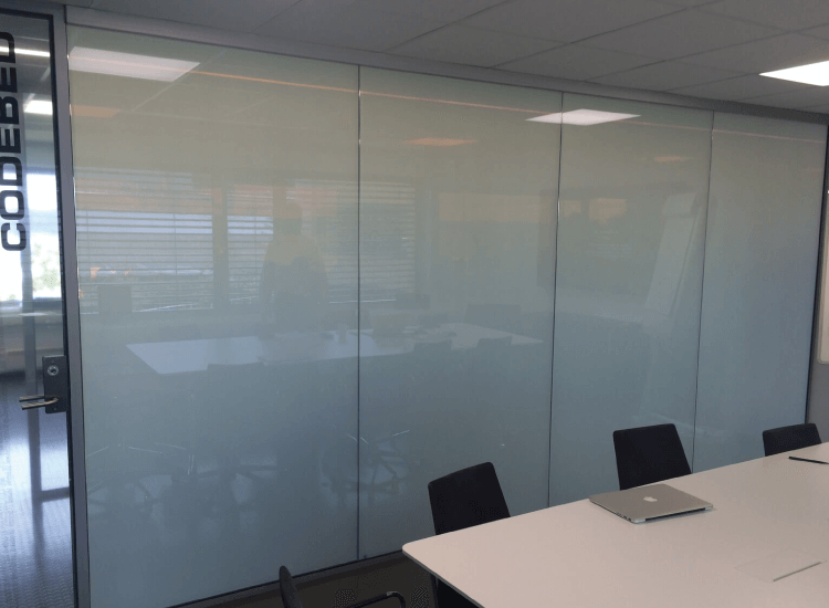 Office Meeting Room Privacy Switched to Off