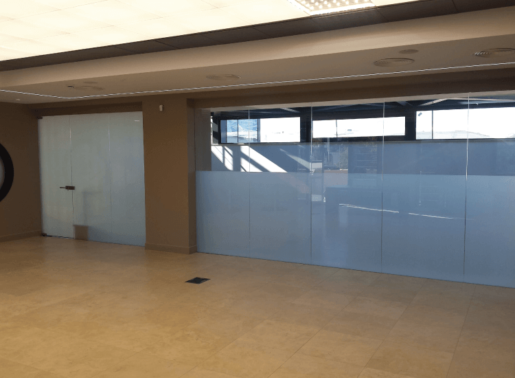 Office Switchable Smart Glass Partition off