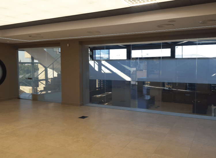 Office Switchable Smart Glass Partition on