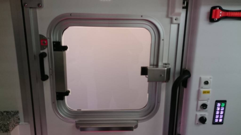 Smart Glass Ambulance Privacy Frosted