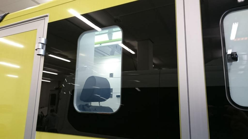 Smart Glass in Ambulance