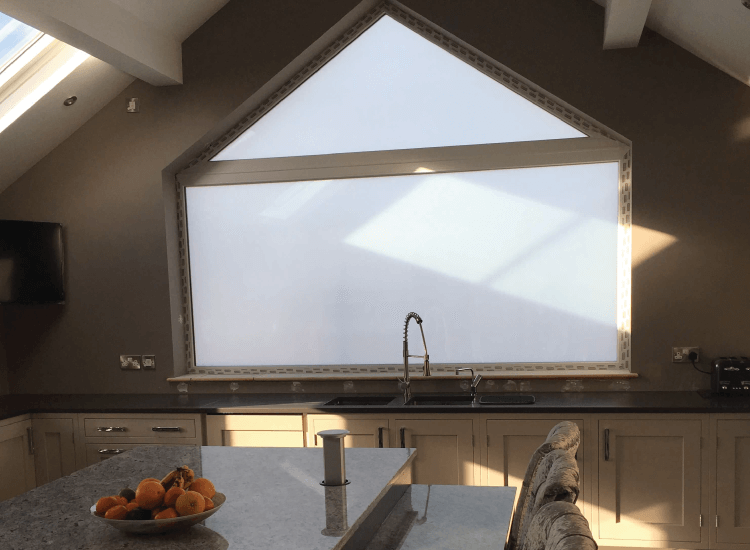 Kitchen external Smart Windows switched to off