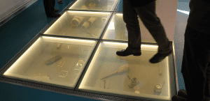Switchable Smart Glass Floors
