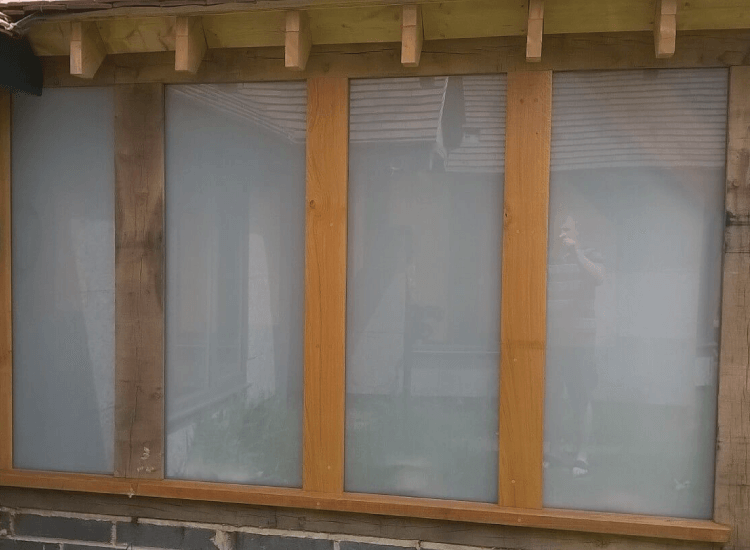 Switchable Smart Windows switched to off