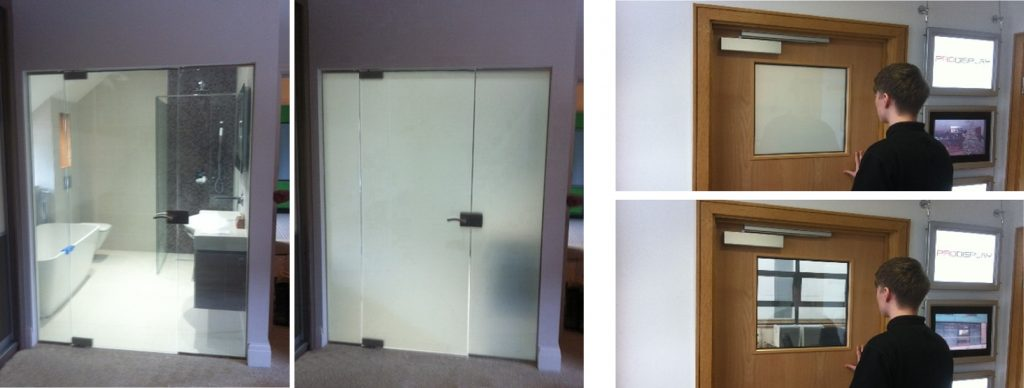 Switchable Doors and Vision Panels