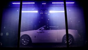 rolls royce smart glass launch