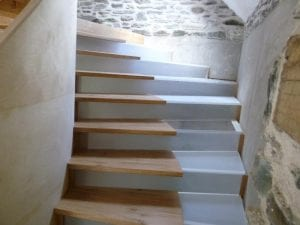 switchable glass stairs