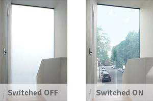 exterior smart glass windows
